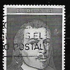 Sellos: SELLO ESPAÑA USADO. 1991. EDIFIL 3110. DÍA DEL SELLO - RETRATO DE JUAN DE TASSIS Y PERALTA.. Lote 145435534