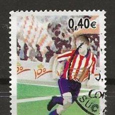 Sellos: R60/ ESPAÑA USADOS 2005, EDIFIL 4156, DEPORTES. Lote 152904786