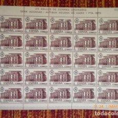 Sellos: 25 SERIES EN PLIEGO, SERIE ADUANAS,AÑO 1976, Nº EDIFIL 2326/28 . Lote 153363822