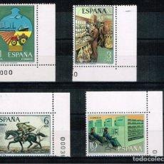 Sellos: ESPAÑA - EDIFIL 2329/32 - SERVICIO DE CORREOS - NUEVO BORDE HOJA DOBLE. Lote 154305558