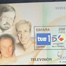 Sellos: HOJA BLOQUE ESPAÑA 2000 EDIFIL SH3764 TELEVISION - CHICHO - ARAGON - OSBORNE - NUEVO - MNH. Lote 154527570