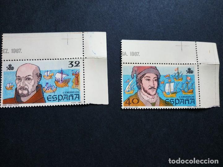 V CENTENARIO DESCUBRIMIENTO DE AMÉRICA 1987 (Sellos - España - Juan Carlos I - Desde 1.975 a 1.985 - Nuevos)
