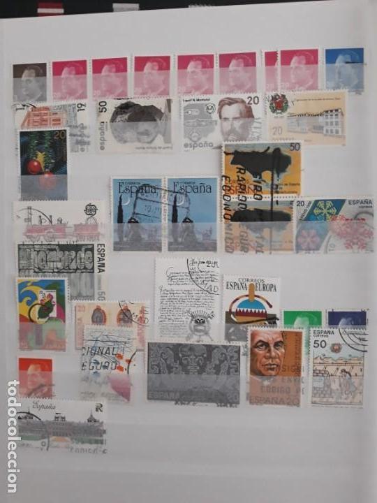 LOTE DE 25 SELLOS USADOS DIFERENTES. ESPAÑA 1987 A 1989 (Sellos - España - Juan Carlos I - Desde 1.975 a 1.985 - Usados)