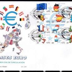 Sellos: 1999 - PAÍSES DEL EURO SPD MP 63 ED. 3632/3643. Lote 155363106