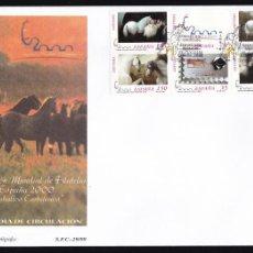 Sellos: 1999 - EXPOSICIÓN MUNDIAL FILATELIA ESPAÑA 2000 SPD ED. 3679A/3684A. Lote 155363318