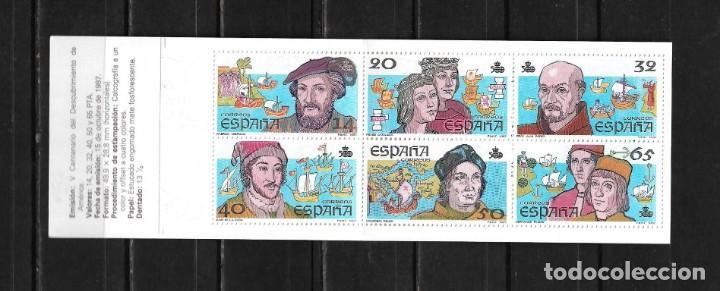 ESPAÑA 1987 CARNE V CENTENARIO DEL DESCUBRIMIENTO DE AMERICA (Sellos - España - Juan Carlos I - Desde 2.000 - Nuevos)