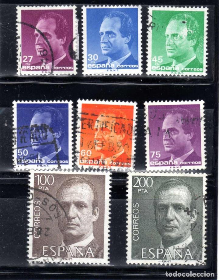 LOTE SELLOS JUAN CARLOS I USADO (Sellos - España - Juan Carlos I - Desde 1.975 a 1.985 - Usados)
