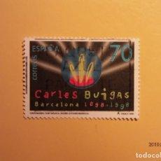 Sellos: ESPAÑA 1999 - CENTENARIOS - EDIFIL 3653 - CARLOS BUIGAS. FUENTE MÁGICA.. Lote 155670626