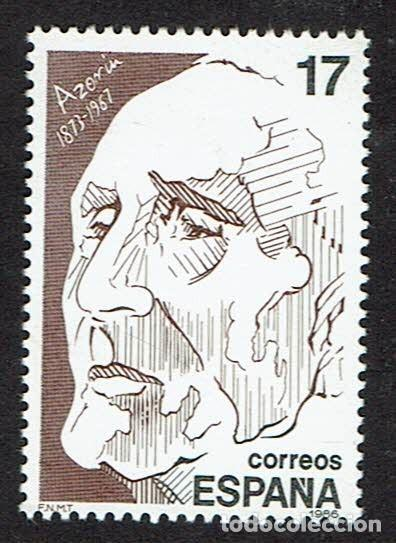 PERSONAJES. 1986. EDIFIL 2855. (Sellos - España - Juan Carlos I - Desde 1.986 a 1.999 - Nuevos)