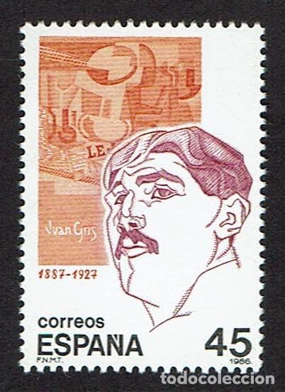 PERSONAJES. 1986. EDIFIL 2856. (Sellos - España - Juan Carlos I - Desde 1.986 a 1.999 - Nuevos)