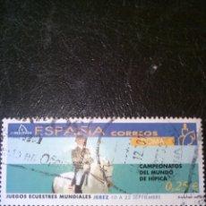 Sellos: SELLO DE ESPAÑA EDIFIL 3900 USADO 2002. Lote 155874342