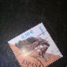 Sellos: SELLO DE ESPAÑA EDIFIL 3867 USADO 2002. Lote 155874406