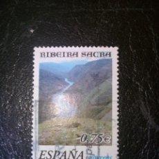 Sellos: SELLO DE ESPAÑA EDIFIL 3884 USADO 2002. Lote 155942638