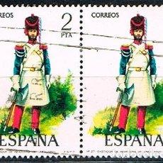 Sellos: EDIFIL Nº 2351, GASTADOR DE INFANTERIA DE LINEA DE 1851, USADO. Lote 155973162