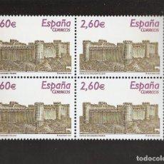 Sellos: SELLOS ESPAÑA AÑO 2008 BLOQUE DE 4 SELLOS LOS DE LA FOTO NUEVOS VER TODOS MIS SELLOS ESPAÑA Y EXTRA. Lote 156473474