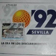 Sellos: ESPAÑA 1992 EXPOSICION UNIVERSAL DE SEVILLA, EXPO92. EDIFIL 3191. Lote 156615218