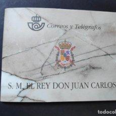 Sellos: ESPAÑA. AÑO 1998.CARNE DON JUAN CARLOS I.. Lote 156634362