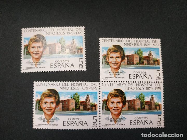 CENTENARIO DEL HOSPITAL DEL NIÑO JESÚS (Sellos - España - Juan Carlos I - Desde 1.975 a 1.985 - Nuevos)