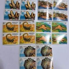 Sellos: SELLOS ESPAÑA FAUNA HISPANICA 7ª SERIE 1979 X 4. Lote 156911106