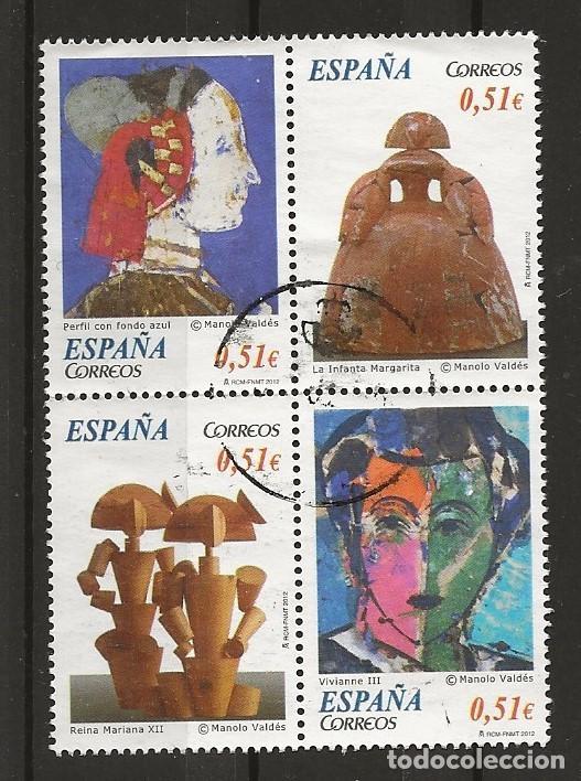 R61.B2/ ESPAÑA USADOS 2012, EDIFIL 4739, ARTE CONTEMPORANEO (Sellos - España - Juan Carlos I - Desde 2.000 - Usados)