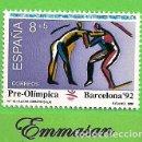 Sellos: EDIFIL 3076. BARCELONA'92. V SERIE PRE-OLÍMPICA - LUCHA. (1990).** NUEVO SIN FIJASELLOS.. Lote 158035710