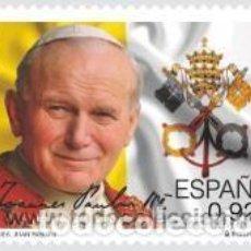 Sellos: AÑO 2014 (4908) PAPA JUAN PABLO II (NUEVO). Lote 158120514