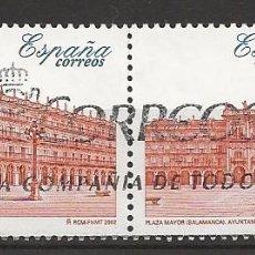 Sellos: R61/ ESPAÑA USADOS 2002, EXP. FILATELICA NACIONAL, EXFILNA 2002. Lote 158148854