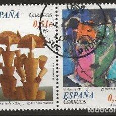 Sellos: R61/ ESPAÑA USADOS 2012, ARTE CONTEMPORANEO. Lote 158152474