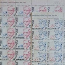 Sellos: COLECCION CENTENARIOS.1984. EDIFIL 2759-2760. 2 PLIEGOS.. Lote 158461766