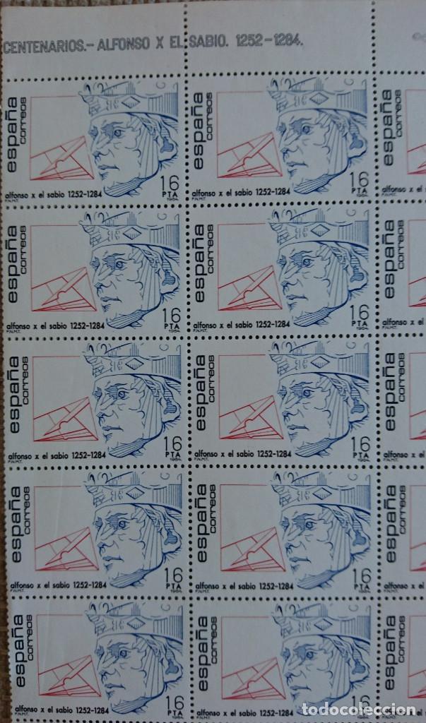 Sellos: Coleccion Centenarios.1984. Edifil 2759-2760. 2 pliegos. - Foto 2 - 158461766