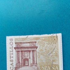 Sellos: SELLO ESPAÑA CASTILLO DE SAN FERNANDO FIGURES GIRONA . Lote 158943446