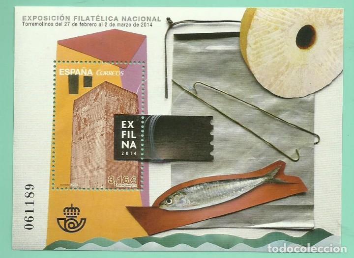 HB 2014 EXFILNA 2014 SELLO DE 3,16 EURO, 30% DESCUENTO (Sellos - España - Juan Carlos I - Desde 2.000 - Nuevos)