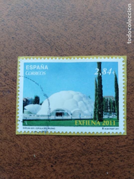 SELLO ESPAÑA EDIFIL 4667 EXFILNA 2011 CÚPULA DEL MILENIO (Sellos - España - Juan Carlos I - Desde 2.000 - Usados)