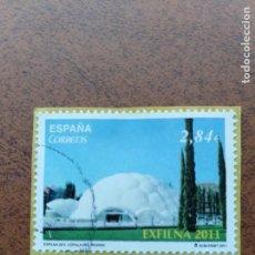 Sellos: SELLO ESPAÑA EDIFIL 4667 EXFILNA 2011 CÚPULA DEL MILENIO. Lote 159058254