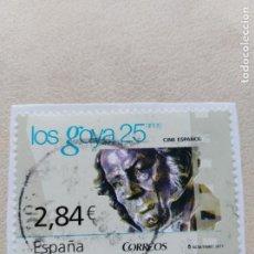 Sellos: SELLO ESPAÑA LOS GOYA 25 AÑOS. Lote 159061686