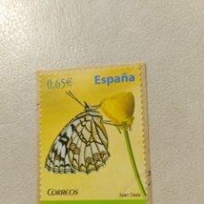 Sellos: SELLO ESPAÑA FAUNA MELANARGIA INES. Lote 159388586