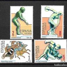 Sellos: OLIMPIADA DE LOS ÁNGELES.USA. ESPAÑA. EMIT. 27-7-1984. Lote 159845466
