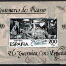 Sellos: ESPAÑA 2631 - AÑO 1981 - EL GUERNICA EN ESPAÑA - ARTE - PINTURA - PICASSO. Lote 160025534