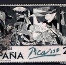 Sellos: ESPAÑA SH 2631 - AÑO 1981 - EL GUERNICA EN ESPAÑA - ARTE - PINTURA - PICASSO. Lote 160025694