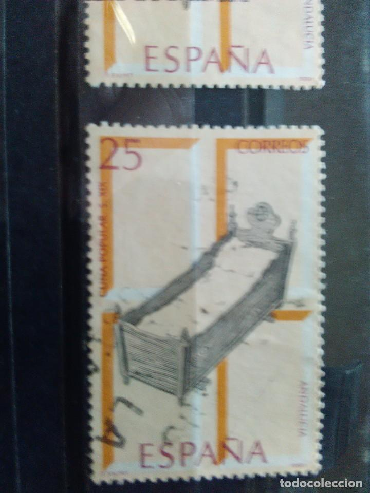 EDIFIL 3130 CUNA POPULAR, DE LA SERIE: ARTESANIA ESPAÑOLA, MUEBLES. AÑO 1991 (Sellos - España - Juan Carlos I - Desde 1.986 a 1.999 - Usados)