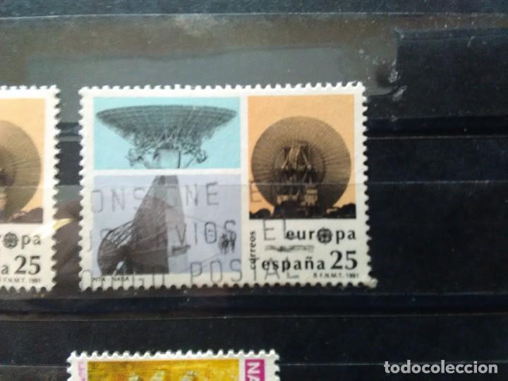 EDIFIL 3116 INTA - NASA DE LA SERIE: EUROPA.. AÑO 1991 (Sellos - España - Juan Carlos I - Desde 1.986 a 1.999 - Usados)