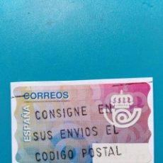 Sellos: SELLO ETIQUETA DE FRANQUEO CORREOS LOGOTIPO CORREOS . Lote 160115322
