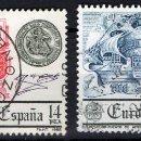 Sellos: ESPAÑA 2657/58 - AÑO 1982 - EUROPA CEPT. Lote 160146210