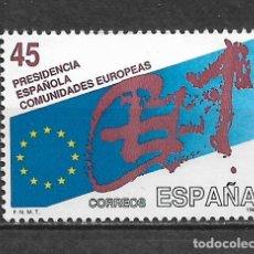 Sellos: ESPAÑA 1989 ** NUEVO EDIFIL 3010 - 4/32. Lote 160433906