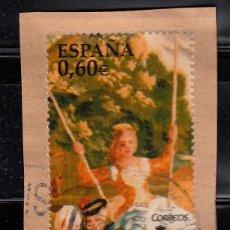 Sellos: ESPAÑA. 2008. PATRIMONIO NACIONAL. TAPICES. EDIFIL SH4427. Lote 160467862