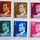 Sellos: ESPAÑA. 2344/49 JUAN CARLOS I. 1976. SELLOS NUEVOS Y NUMERACIÓN EDIFIL.. Lote 160487702