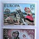 Sellos: ESPAÑA. 2316/17 EUROPA-CEPT: JARRÓN DE TALAVERA Y ENCAJE DE CAMARIÑAS. 1976. SELLOS NUEVOS Y NUMERAC. Lote 160488030