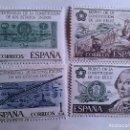Sellos: ESPAÑA. 2322/25 BICENTENARIO ESTADOS UNIDOS. 1976. SELLOS NUEVOS Y NUMERACIÓN EDIFIL.. Lote 160488238