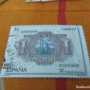 Sellos: SELLO USADO ESPAÑA - NUMISMÁTICA - BILLETE UNA PESETA - 2014. Lote 160560470