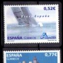 Sellos: ESPAÑA - 2004 EDIFIL Nº 4092/4093 - EXPOSICIÓN MUNDIAL DE FILATELIA ESPAÑA 2004. VALENCIA. Lote 160599742